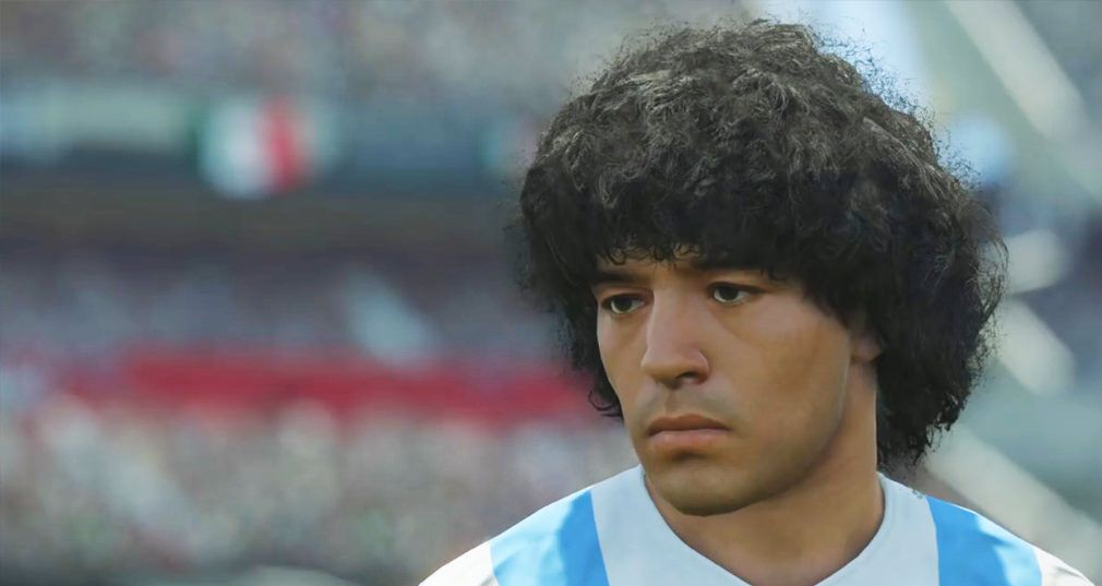 Maradona Vs Konami