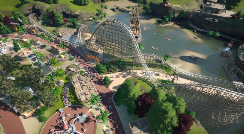 Planet Coaster estará disponible en formato físico