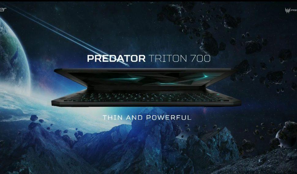 Predator Triton 700 – El futuro de los portátiles gaming que está por llegar