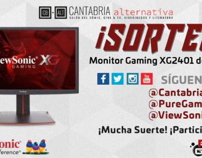 SORTEO CANTABRIA ALTERNATIVA MONITOR GAMING VIEWSONIC ¡SUERTE!