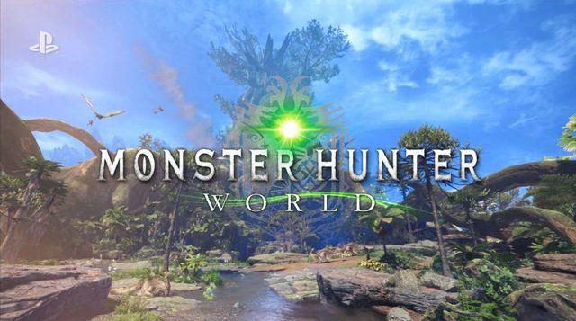 [E3 2017] Capcom presenta Monster Hunter World que llegará en 2018