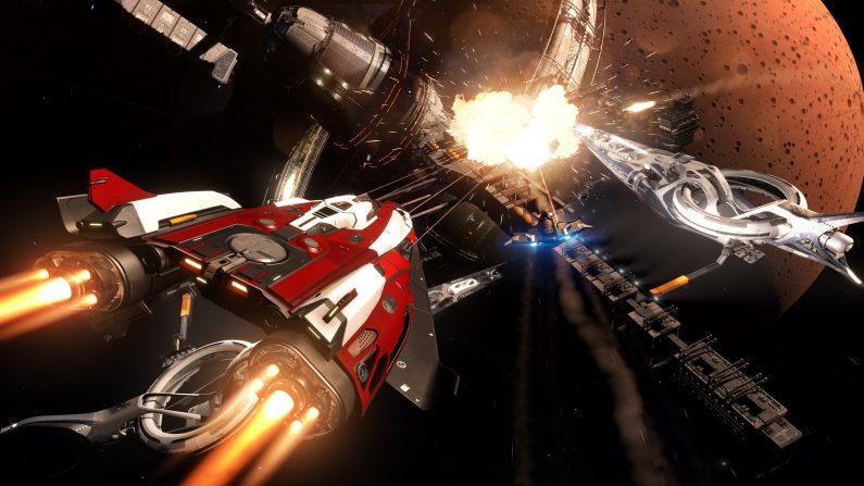 Elite Dangerous llegará a PlayStation 4 y Xbox One en formato físico