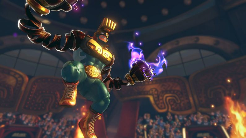 El nuevo personaje que llegará a ARMS en forma de DLC gratuito