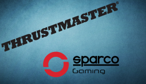 Sparco y Thrustmaster