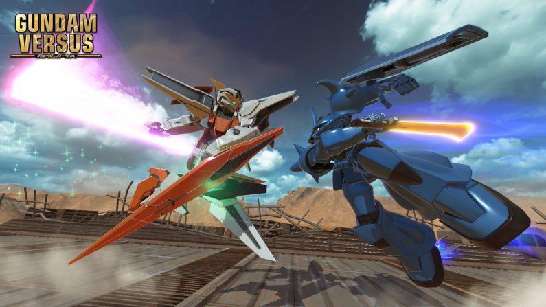 Gundam Versus presenta su tráiler introductorio
