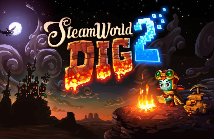 Se confirma el lanzamiento de SteamWorld Dig 2