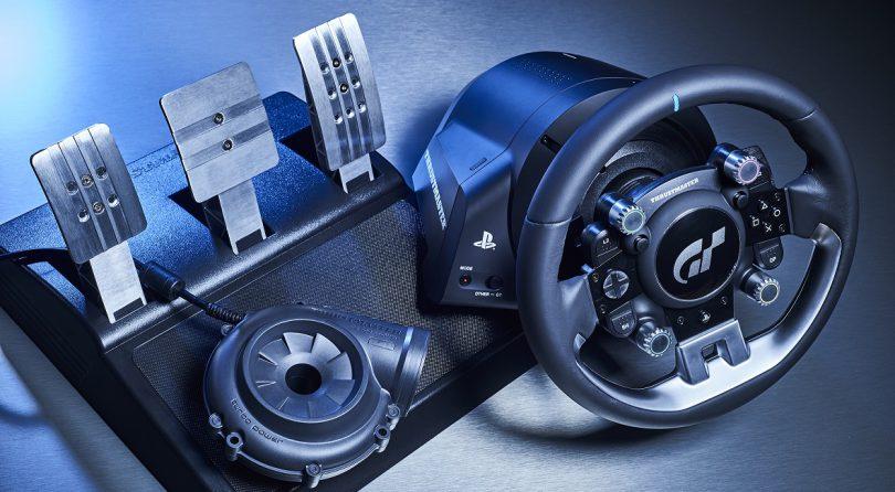 Thrustmaster presenta su volante de competición T-GT