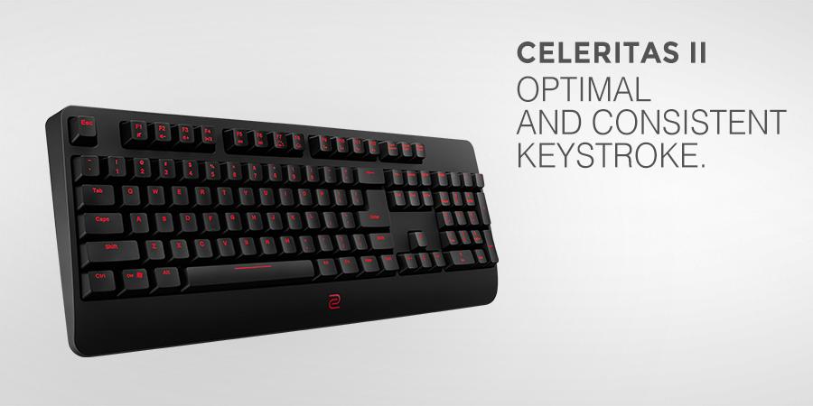 Zowie by BenQ presenta un nuevo teclado y alfombrilla