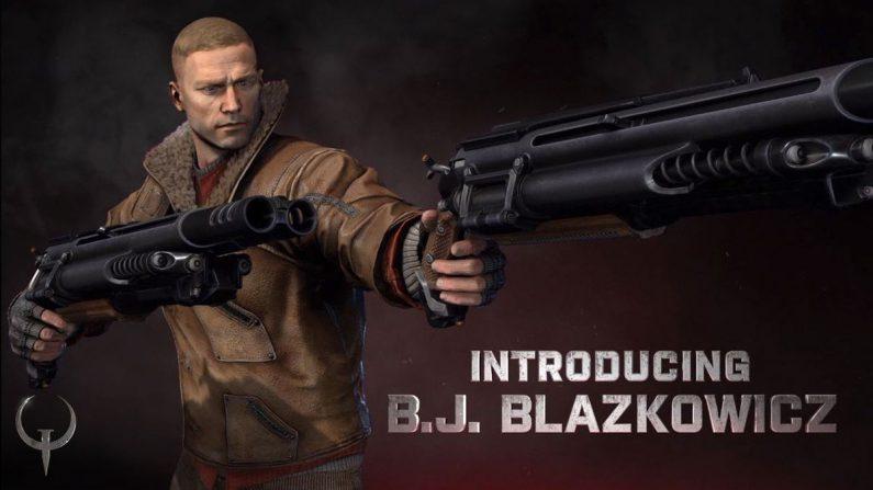 B.J. Blazcowicz, de Wolfenstein, llega a Quake Champions