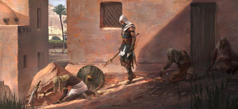 Se ha prometido más acción en las misiones de Assassin's Creed: Origins