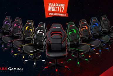Mars Gaming presenta su nueva silla gaming MGC117