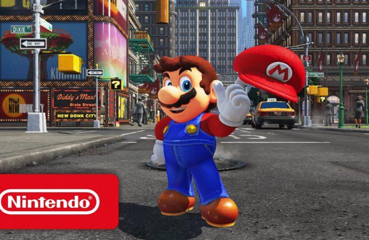 En cada escenario de Super Mario Odyssey habrá entre 30 y 50 lunas