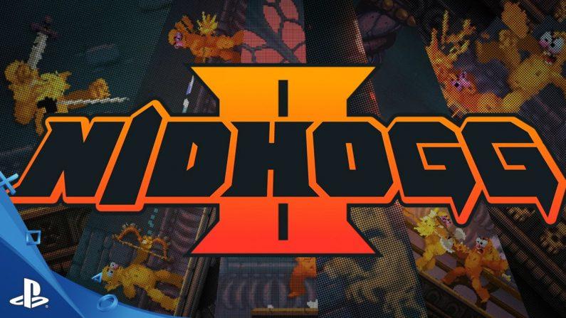 Nidhogg 2 ya se puede ver en un gameplay de 20 minutos