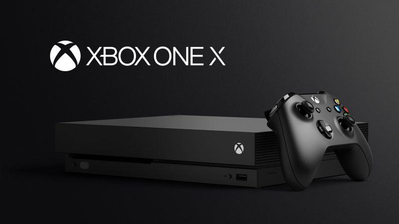 La nueva Xbox One X va a contar con soporte vertical
