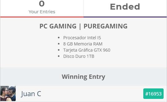 Sorteo PC Gaming