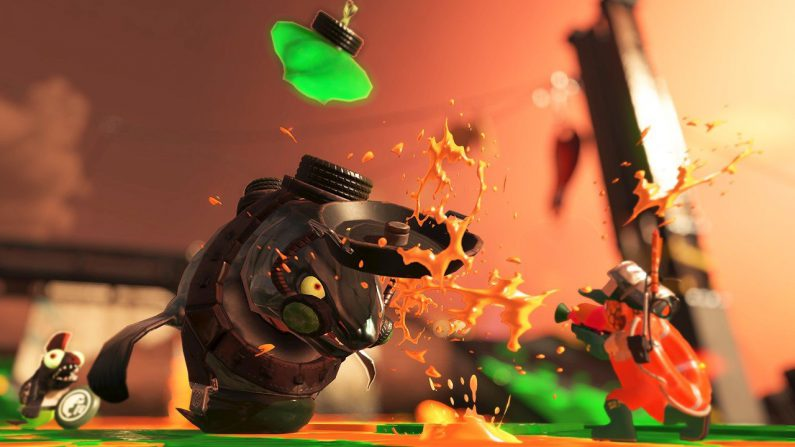 Ya se ha mostrado el modo Salmon Run de Splatoon 2