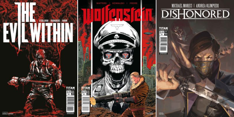Habrá comics de Wolfenstein, The Evil Within y Dishonored