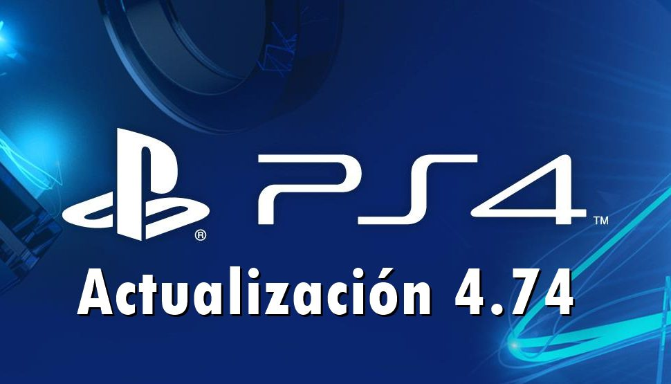 Ya está disponible la actualización 4.72 de PlayStation 4