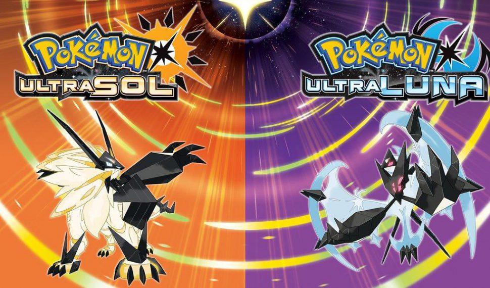 Los títulos de Pokémon Ultrasol y Ultraluna van a llegar en un pack doble