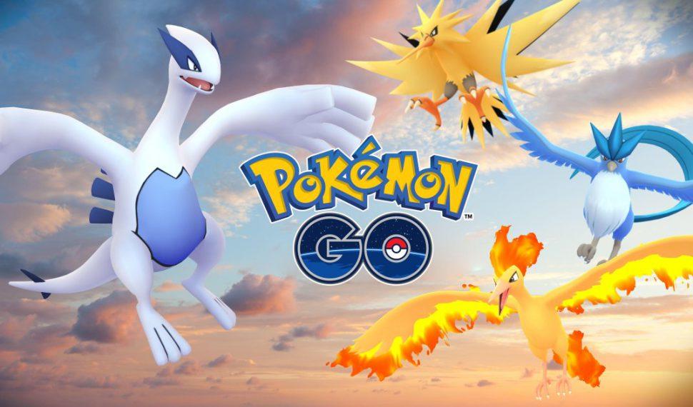 Pokémon Go recibirá, al menos, dos nuevos Pokémon Legendarios