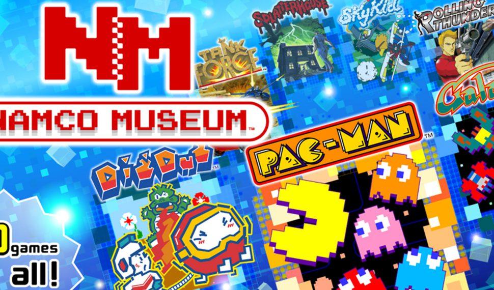 Tráiler de lanzamiento para Namco Museum de Nintendo Switch
