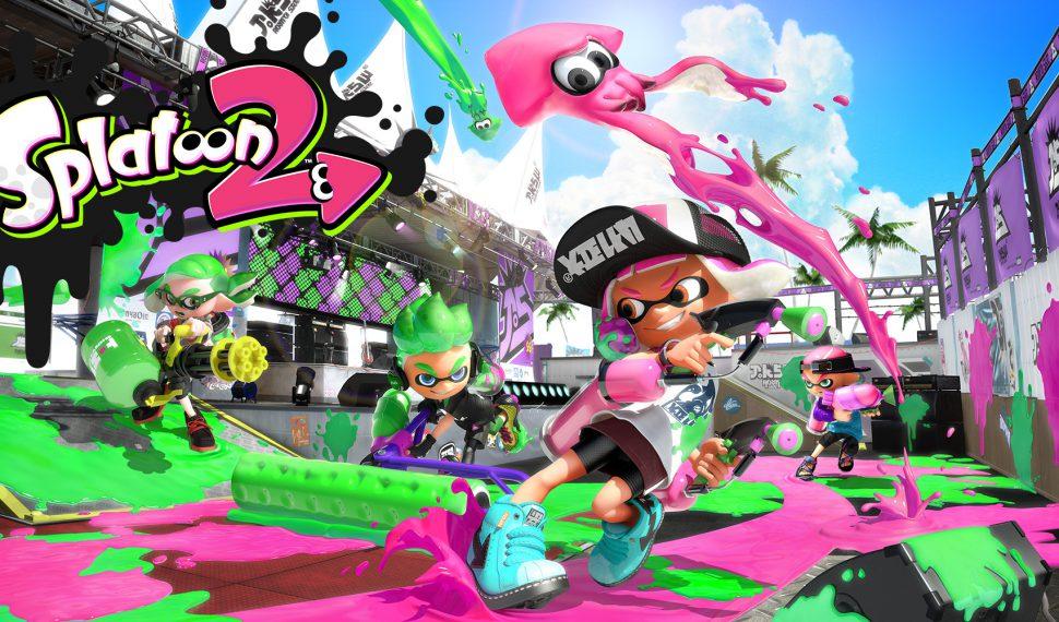 Nintendo Online y Splatoon 2 llegan a la par el 21 de julio