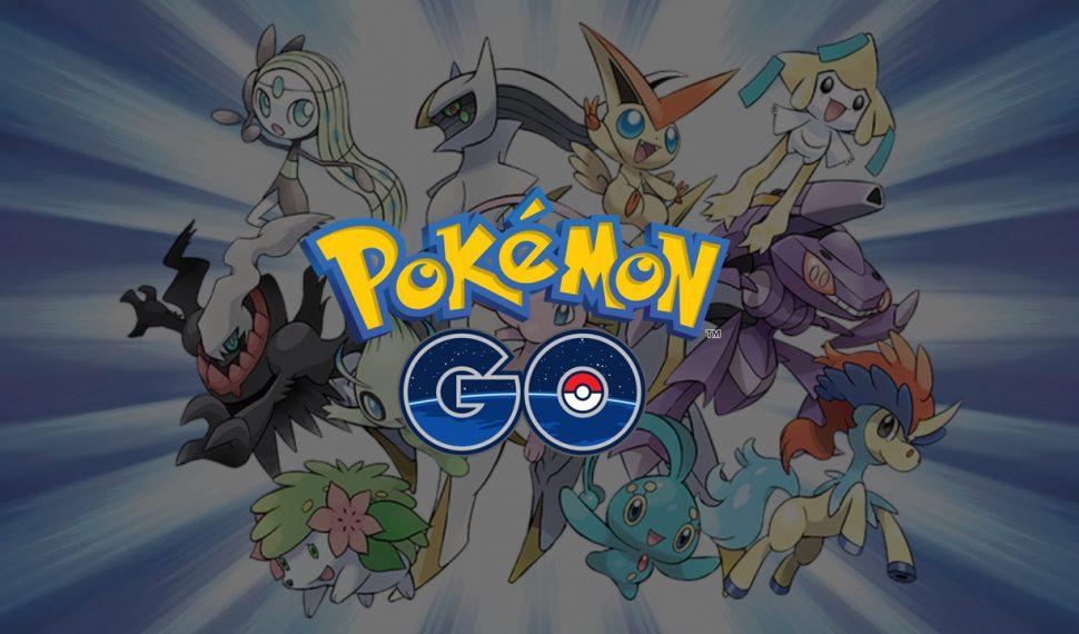 [CONFIRMADO] Los Pokémon Legendarios llegan a Pokémon Go