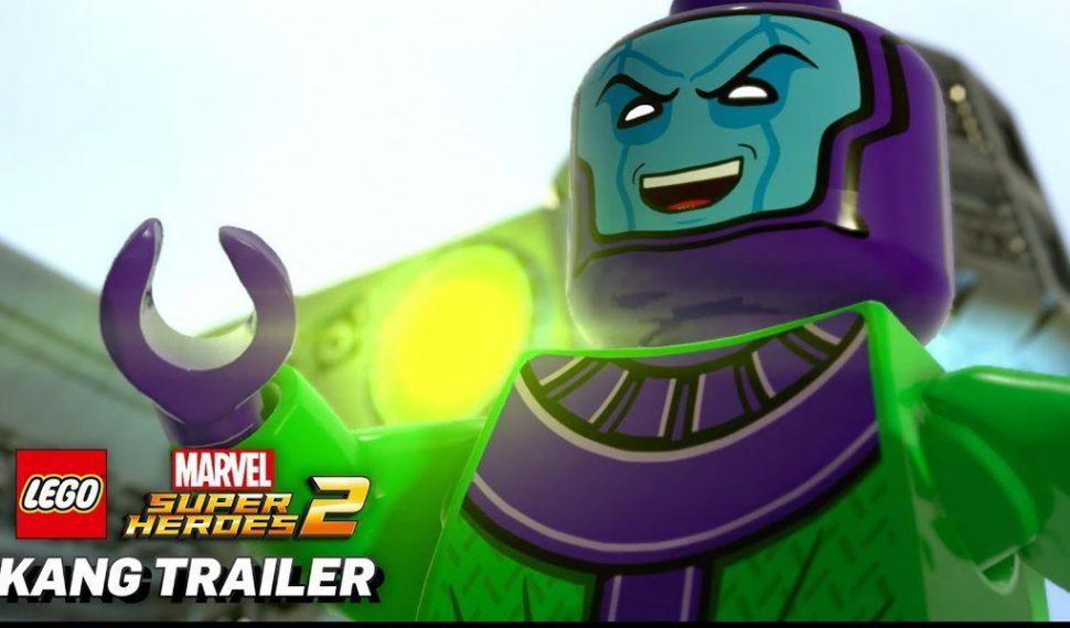 Kang the Conqueror, el villano de LEGO Marvel Super Heroes 2