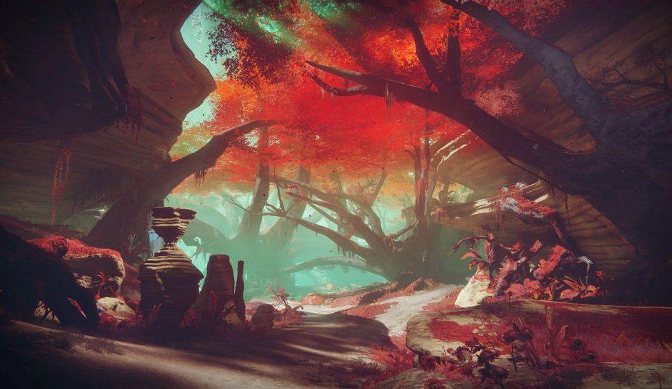 Os presentamos Nessus, un nuevo planeta en Destiny 2