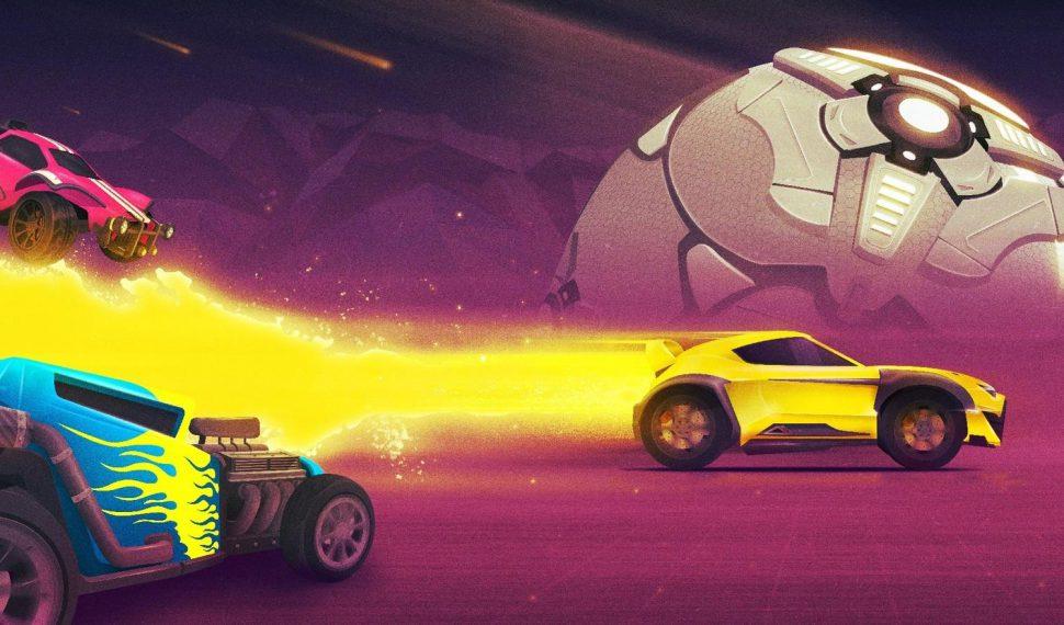 Así es la actualización del aniversario de Rocket League