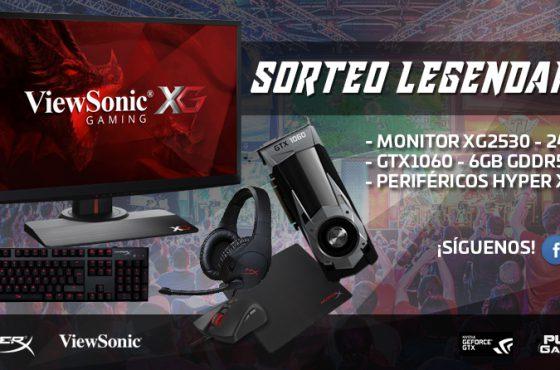 [FINALIZADO] SORTEO LEGENDARIO – ¡ViewSonic, HyperX, NVIDIA y PureGaming te regalan el mejor equipamiento para gamers!