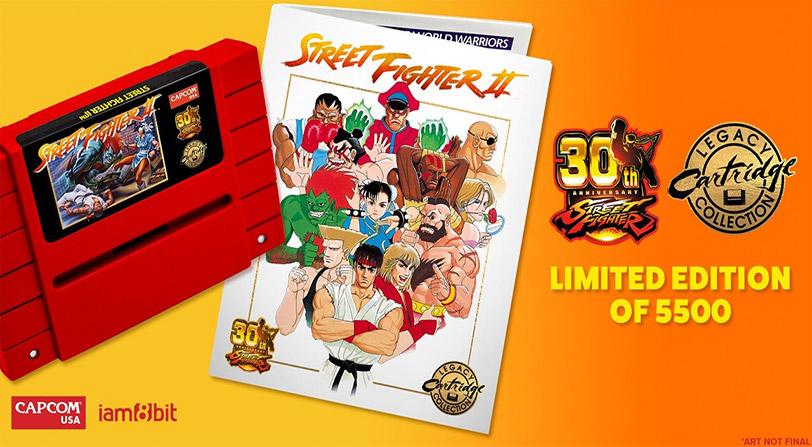 Nueva edición de Street Fighter II por su 30º aniversario