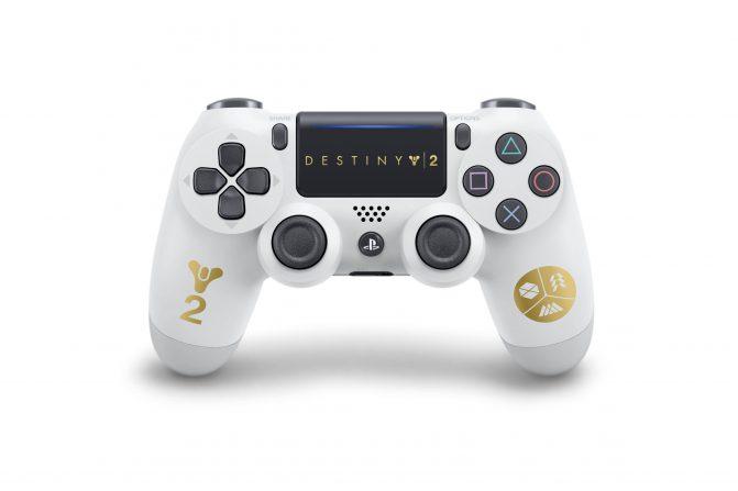 Así es el mando especial de Destiny 2 para PlayStation 4