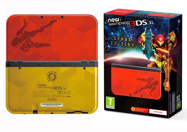 Esta es la edición especial de Nintendo 3DS XL de Samus Aran