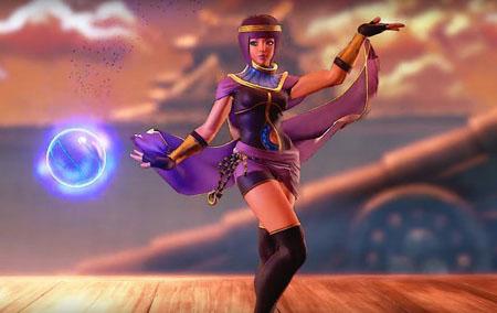 Menat: nuevo personaje disponible para Street Fighter 5