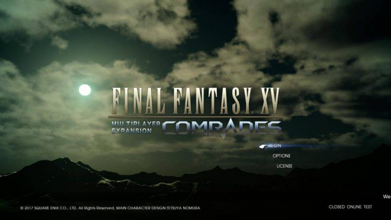 Extendida la beta del multijugador de Final Fantasy XV