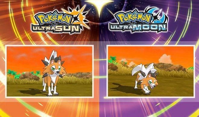 Pokémon Ultra Sol y Ultra Luna introducirán una nueva forma de Lycanroc