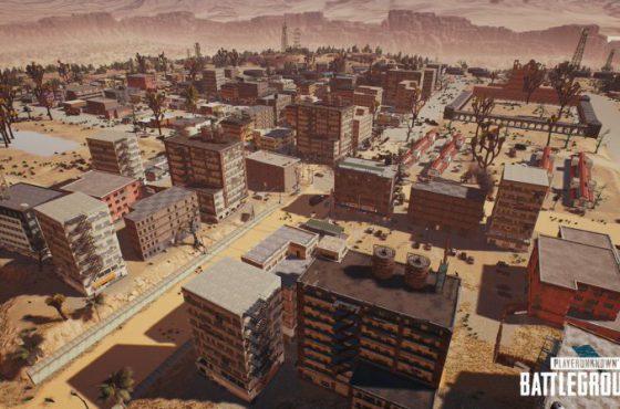 Enseñada imagen del nuevo mapa de Playerunknown's Battlegrounds (PUBG)