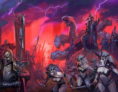 Los Elfos Oscuros de Total Warhammer II en un nuevo vídeo