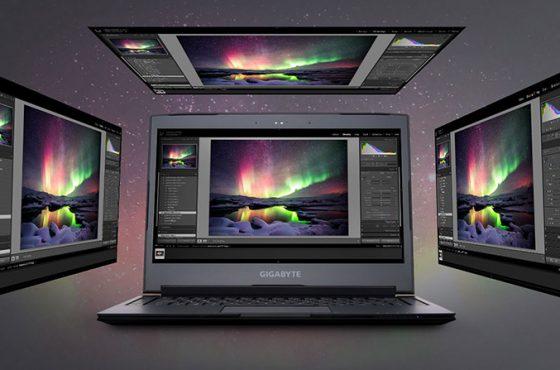 Nuevo portátil GIGABYTE AERO 14 K con gráfica NVIDIA GeForce GTX 1050 Ti