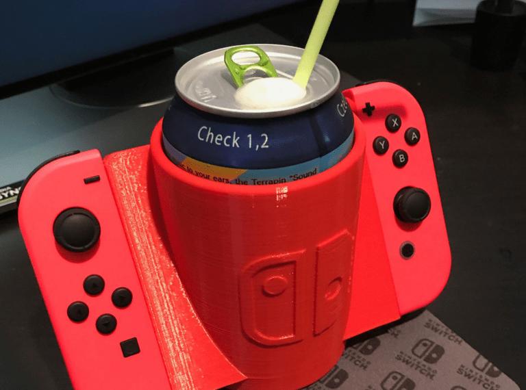 El accesorio que te sirve para mantener la bebida fría con los Joy-Con de Switch