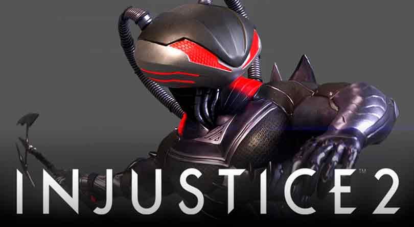 Manta Negra, el rival de Aquaman, se deja ver en el nuevo tráiler de Injustice 2