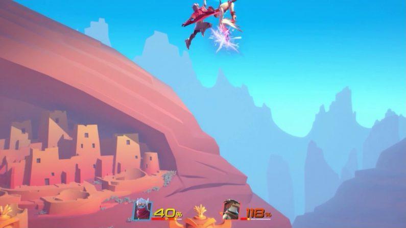 Brawlout El Juego Indie Similar A Super Smash Bros Llegara A