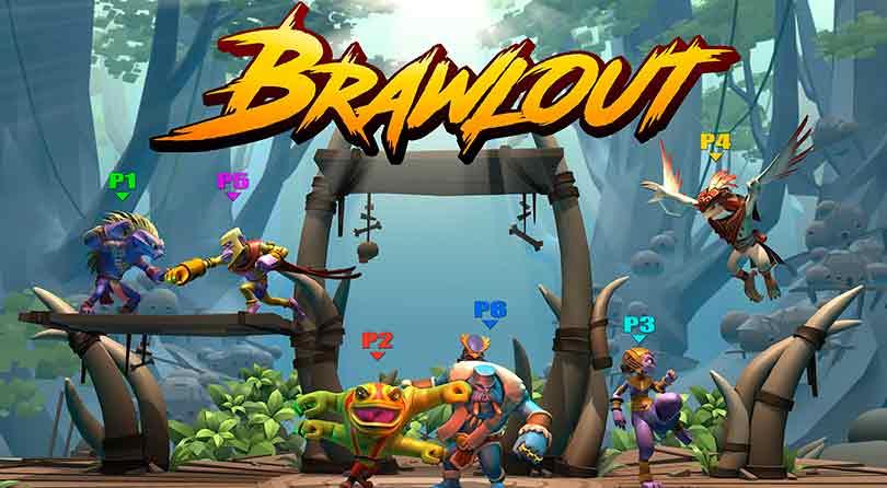 Brawlout, el juego indie similar a Super Smash Bros, llegará a Nintendo Switch