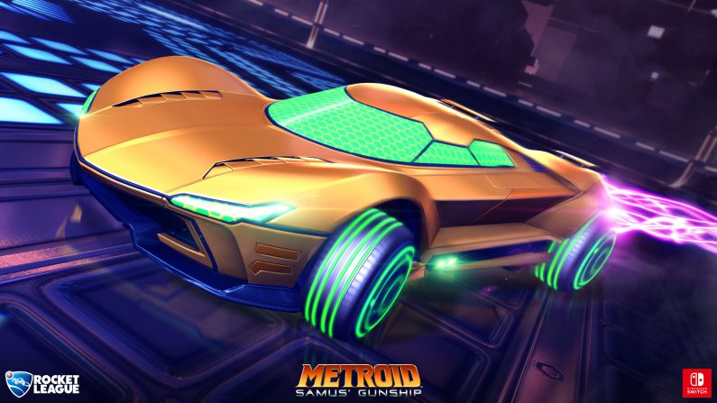 Coches exclusivos para Rocket League de Nintendo