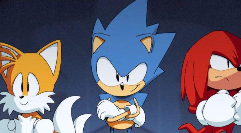 Sonic Mania presenta su cinemática inicial