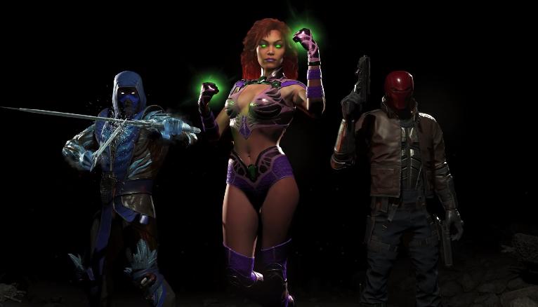 Así se mueve Starfire, la nueva superheroína de Injustice 2