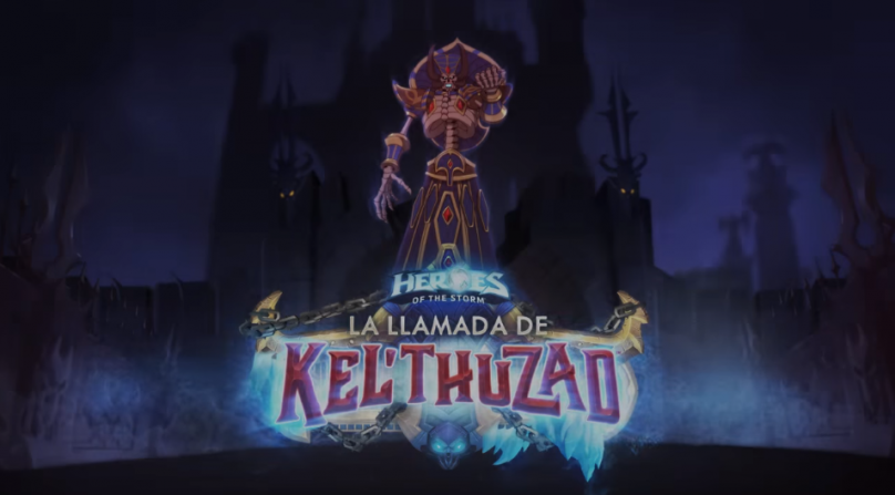 Kel'thuzad presentado en Heroes of the Storm