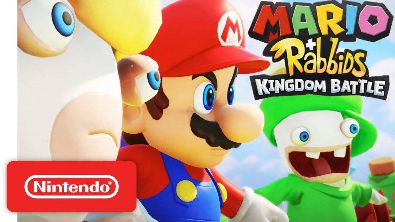 Un nuevo vídeo muestra las misiones cooperativas Mario+Rabbids Kingdom Battle