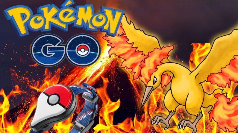 El ave legendaria de fuego, Moltres, llega a Pokémon Go
